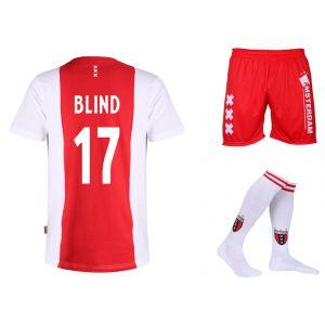 Ajax Voetbaltenue Blind Thuis Kids-Senior