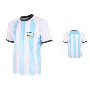 Argentinie Fan Voetbalshirt Thuis Eigen Naam - OP=OP