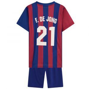 FC Barcelona Tenue Frenkie de Jong Thuis - 2021-2022 - Kids