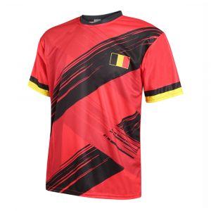 Belgie Voetbalshirt Thuis Eigen Naam 2020-2021 Kids-Senior