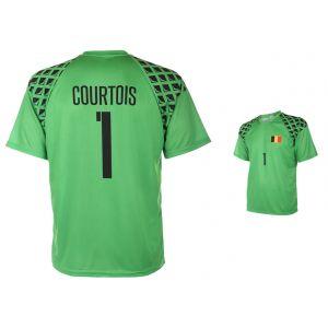 Belgie Keepersshirt Courtois Thuis 2016-2017 - OP=OP