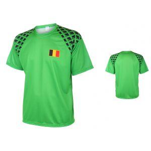 Belgie Keepersshirt Thuis Eigen Naam Bedrukken 2016-2017