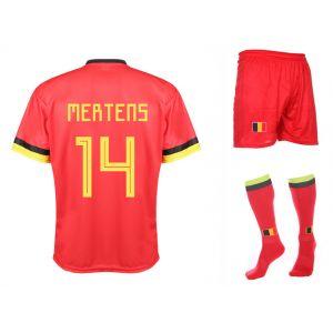 Belgie Voetbaltenue Mertens Thuis 2019-2021 Kids-Senior