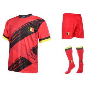 Belgie Voetbaltenue Hazard Thuis 2019-2021 Kids-Senior