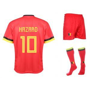 Belgie Voetbaltenue Hazard Thuis 2020-2021 Kids-Senior