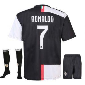 Juventus Voetbaltenue Ronaldo Thuis 2020-2021 Kids-Senior
