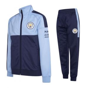 Manchester City Trainingspak Eigen Naam 2020-2021 Kids