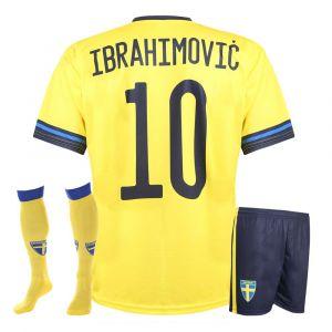 Zweden Voetbaltenue Ibrahimovic 2020-2022 - Kids - Senior